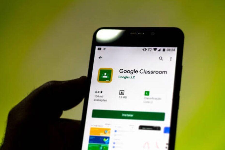 Google classroom mobile
